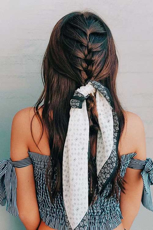 Half Braided Hairstyles You Should See