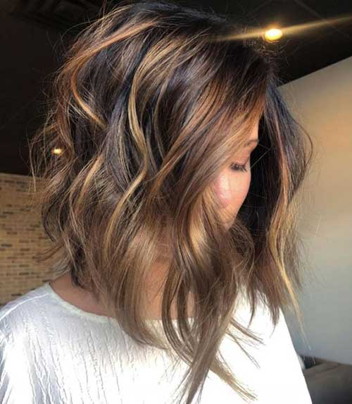 Latest Soft Wavy Bob Hairstyles