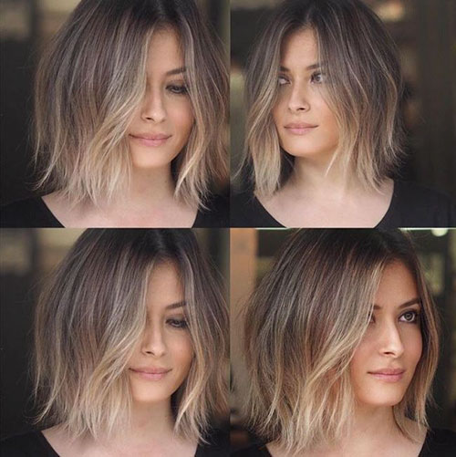 45+ Beautiful Brown to Blonde Ombre Short Hair