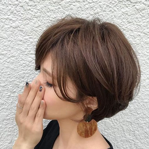 55 Best Short Layered Bob With Bangs | Hairstyles and Haircuts | Lovely-Hairstyles.COM