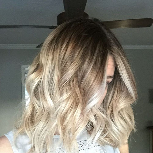 Blonde And Brown Short Hairstyles