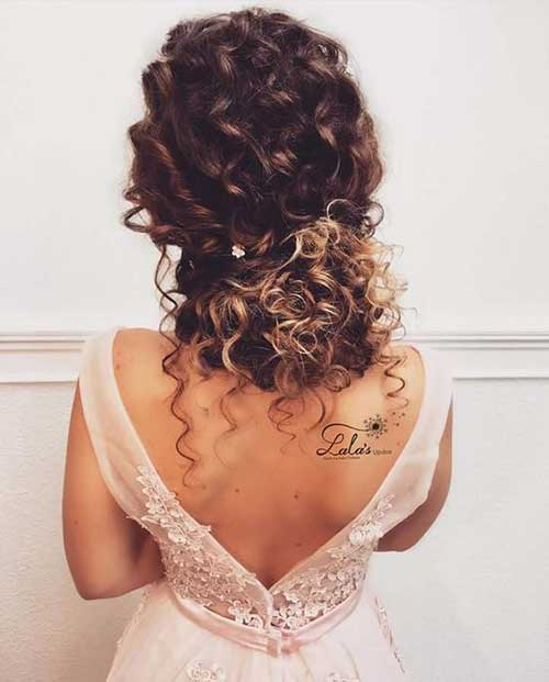 Wedding Hairstyle For Natural Curly Hair: Best Long Curly Hairstyles For Women 2019
