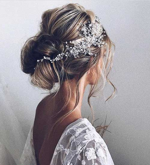 17 Gorgeous Wedding Updos For Brides In 2019: Latest Bridal Updos For Long Hair