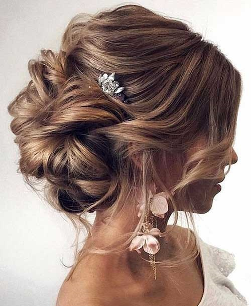 Latest Bridal Updos for Long Hair