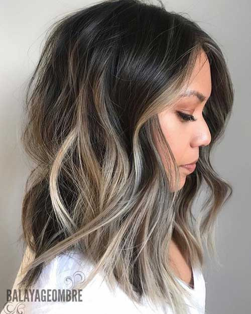 Wavy Hair Blonde Highlights-13