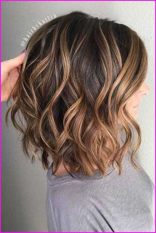 Wavy Hair Blonde Highlights-19
