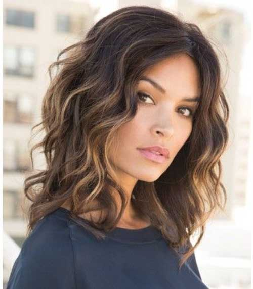 Best Wavy Hair Highlights for Chic Ladies | Hairstyles and Haircuts | Lovely-Hairstyles.COM