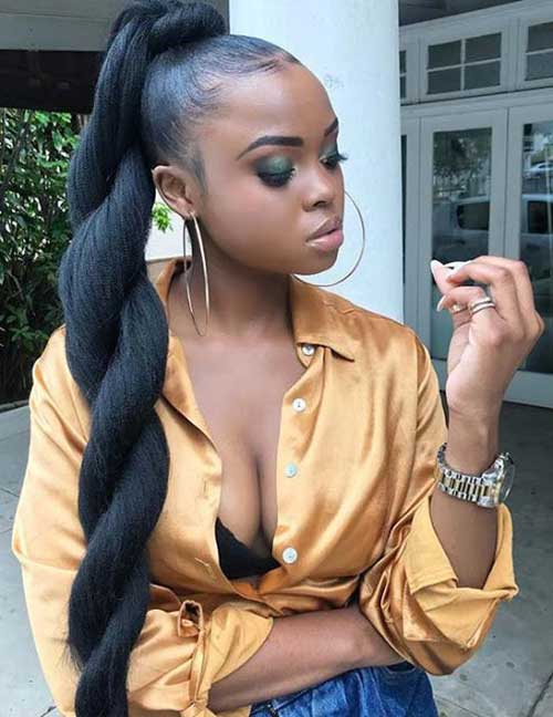 Natural Hairstyles for Black Women-10