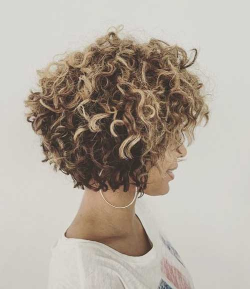Hairstyles for Short Blonde Curly Hair