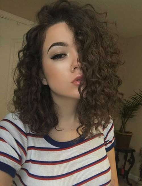 Bob Hairstyles for Short Curly Hair