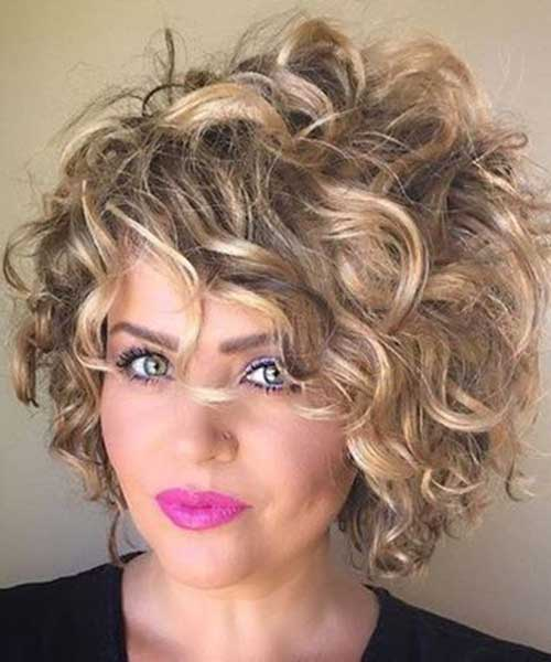 Hairstyles for Short Messy Curly Hair
