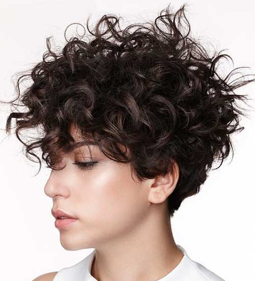 Hairstyles for Short Frizzy Curly Hair