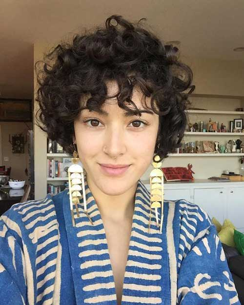 Very Hairstyles for Short Curly Hair