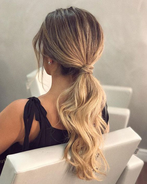 Easy Ponytail Hairstyles-12