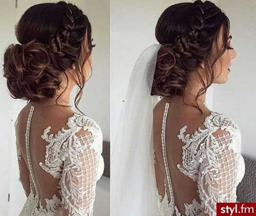 Wedding Hair Bun-12