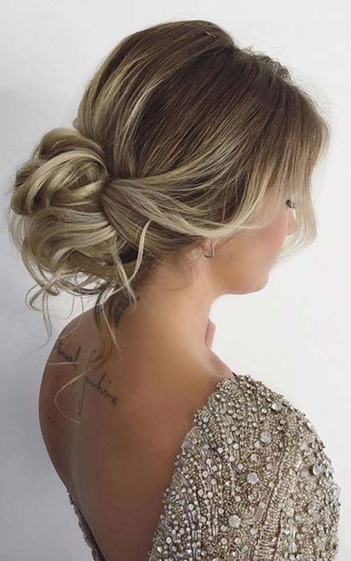 Wedding Hair Bun-13
