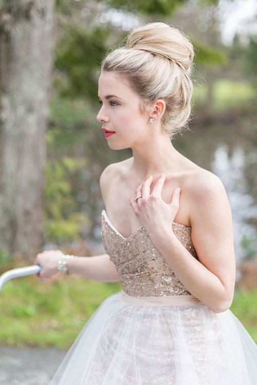 Wedding Hair Bun-14