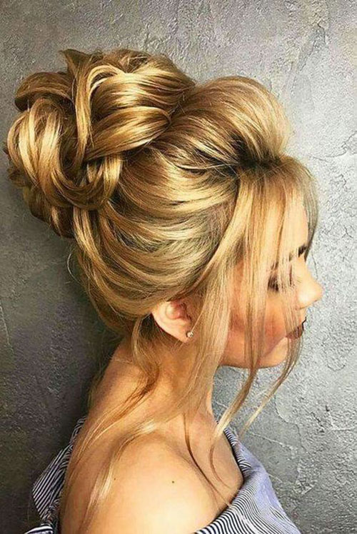 Wedding Hair Bun-16