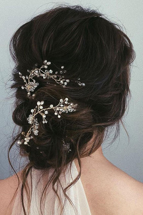 Wedding Hair Bun-17