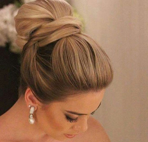 Wedding Hair Bun-18