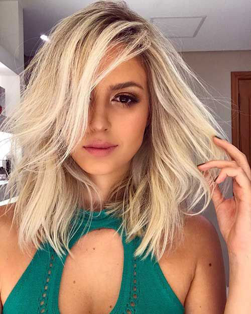 Medium Length Hairstyles-20