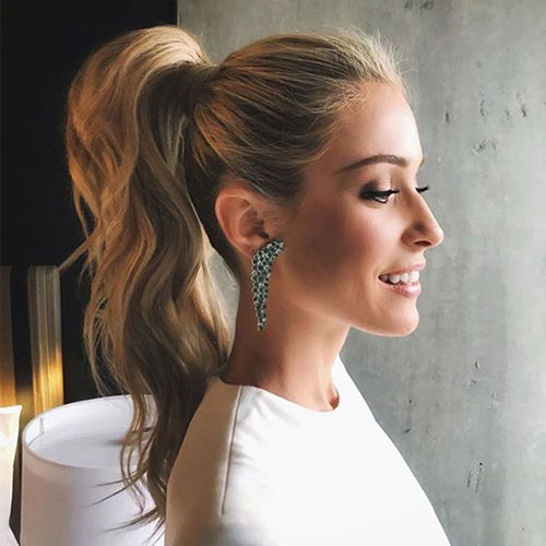 Easy Ponytail Hairstyles-20