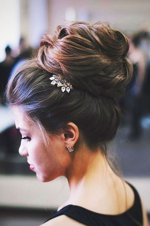 Wedding Hair Bun-25