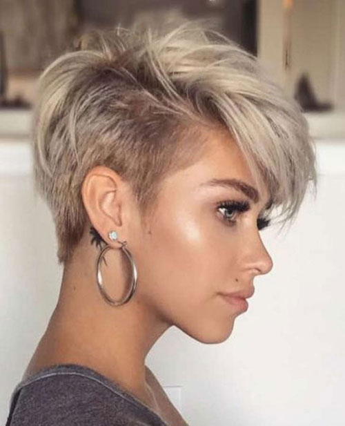 Chic Pixie Hairstyles 2019 For Ladies Hairstyles And