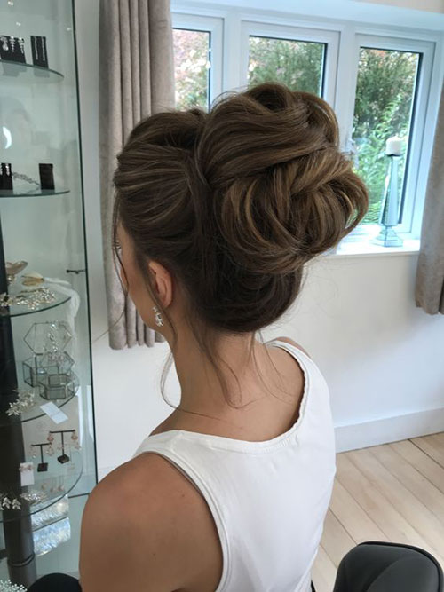 Chic Wedding Hair Bun-8