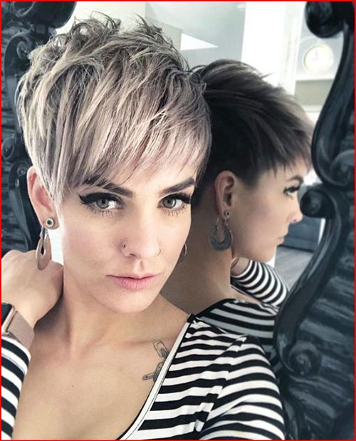 Layered Pixie Hairstyles 2019-8