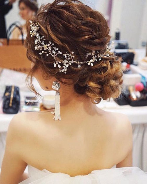 Bun Hair Pieces for Wedding