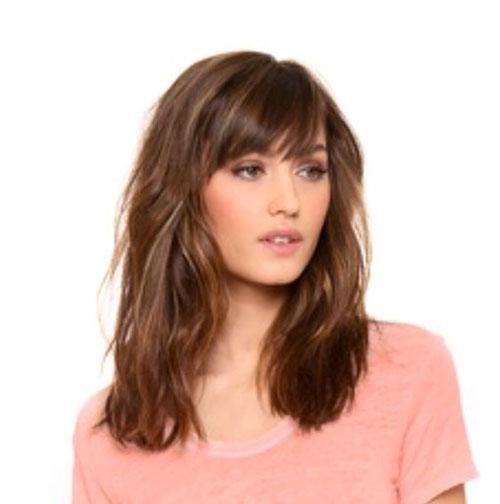 Hairstyles W Bangs
