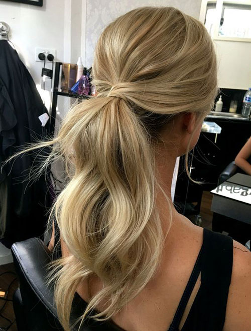 Simple Ponytail Hairstyles