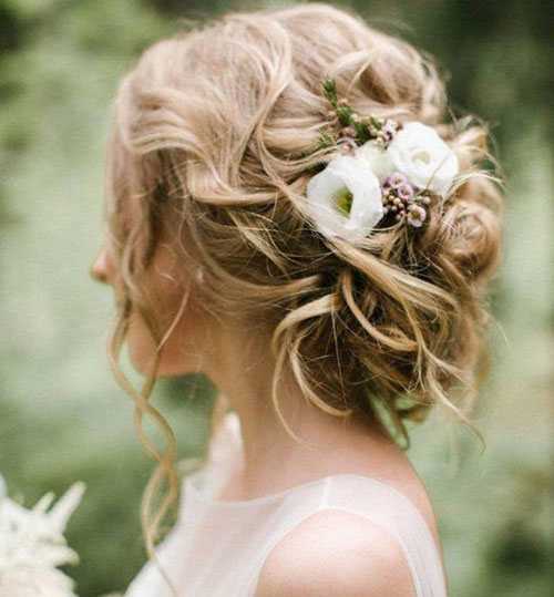 25 Amazing Bun Hairstyle for Wedding