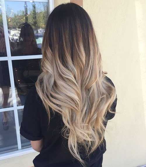 Layered Hairstyles for Ombre Hair-10