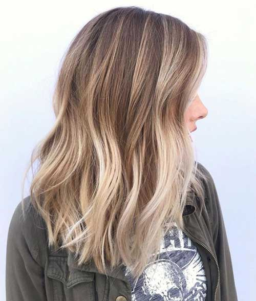 Soft Lights Hairstyles for Ombre Hair-12