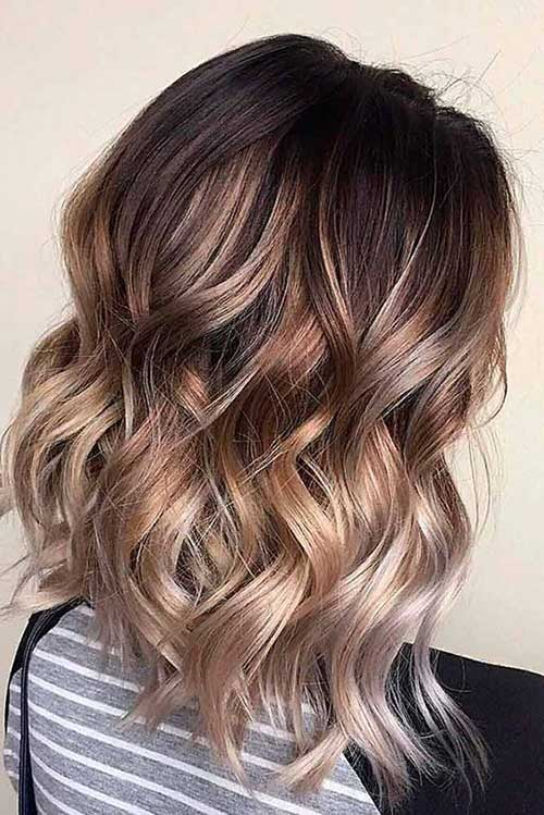 Hairstyles for Blonde Ombre Hair-13