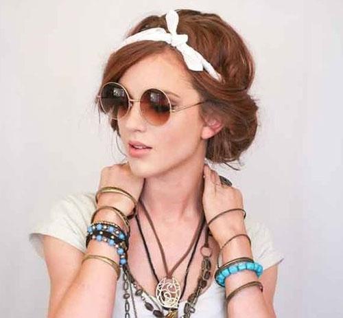 Bohemian Headband Hairstyles-14