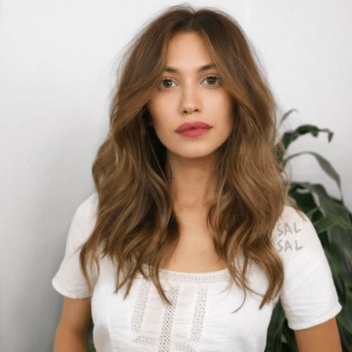 Medium Length Wavy Hairstyles-14