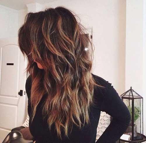 Choppy Layered Haircuts for Women-15
