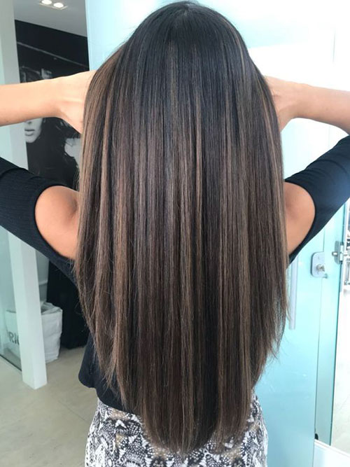 15 Long Straight Hairstyles For Women Hairstyles And