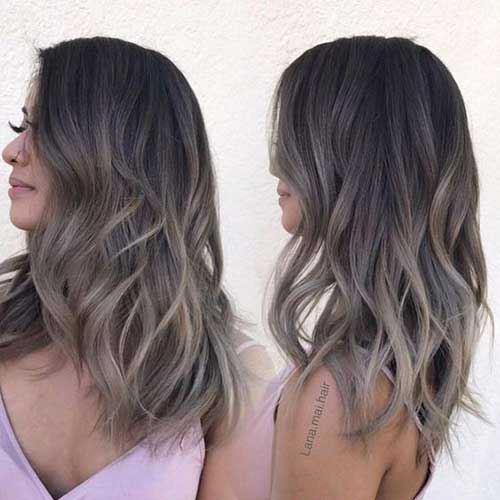 Hairstyles for Ombre Hair-17