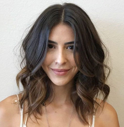 Medium Length Wavy Hairstyles-20