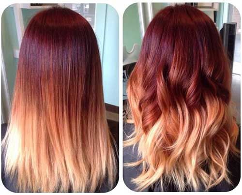 Hairstyles for Ombre Hair-22