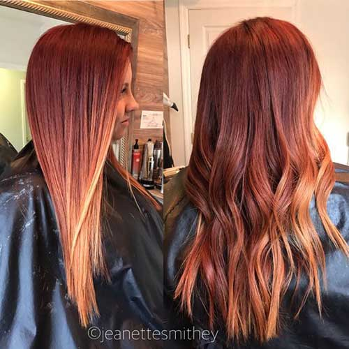 Hairstyles for Ombre Hair-23