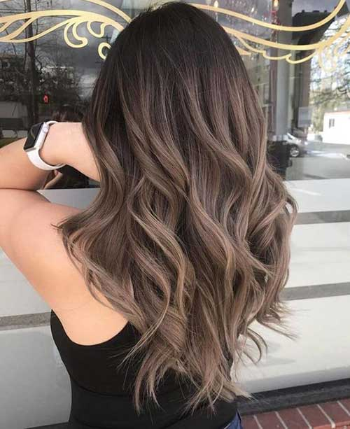 Hairstyles for Brown Ombre Hair-8