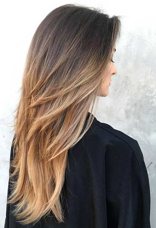 Layered Ombre Haircuts for Women-9