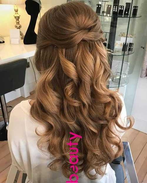 Cute Half Up Half Down Hairstyles-10