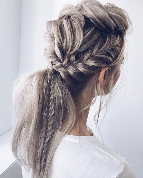 Braided Hairstyles for Blonde Hair-11