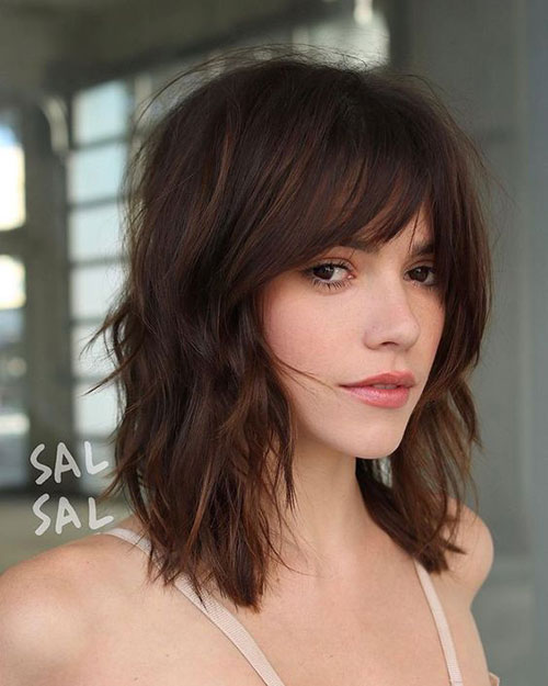 Hairstyles with Bangs 2019-11